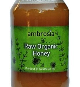 Ambrosia - Raw Organic Honey (1 Kg)