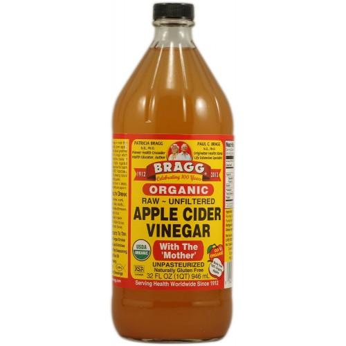 Bragg - Organic Raw Apple Cider Vinegar ( Cuka Apel ) 32 ...