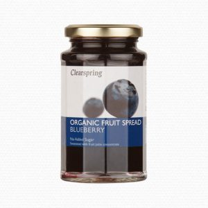 Clearspring - Organic Fruit Spread - Blueberry (290 gr)