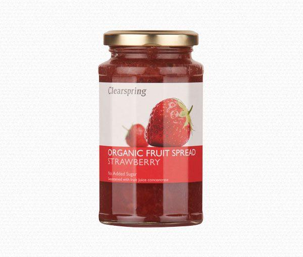 Clearspring - Organic Fruit Spread - Strawberry (290 gr)