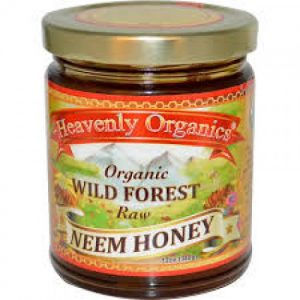 Heavenly Organics - Raw Honey - Neem (12 oz  340 gr)