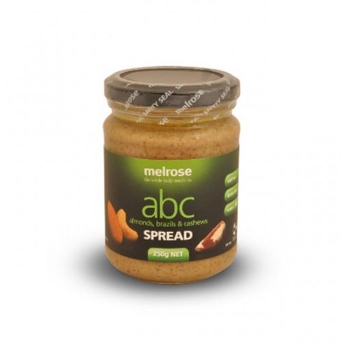 Melrose - ABC Spread – Almond, Brazil & Cashew (250 gr)