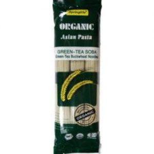 Springlife - Organic Green Tea Soba Buckwheat Noodles (240 gr)