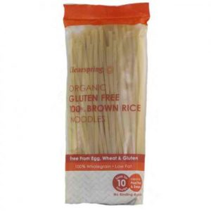 Clear Spring - Organic Gluten Free 100 Percent Brown Rice Noodles (200 gr)