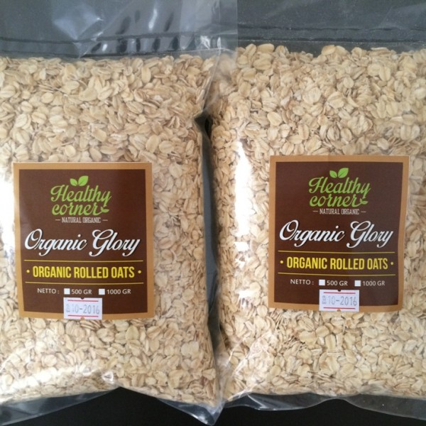 Healthy Corner - Organic Rolled Oats (500 gr)