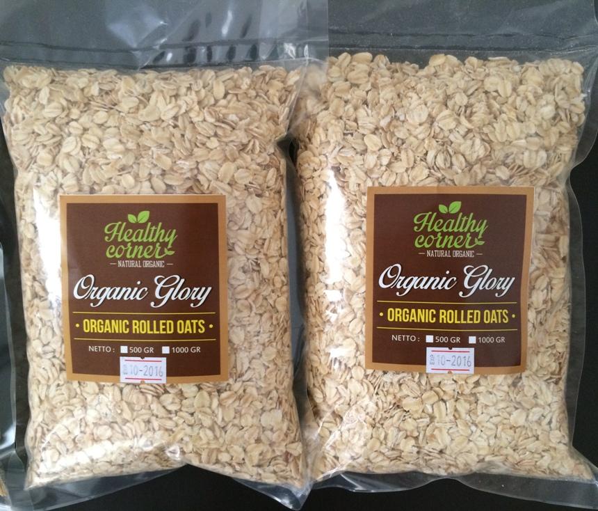Organic Rolled Oats (500 gr) - Jual Makanan Diet Sehat ...