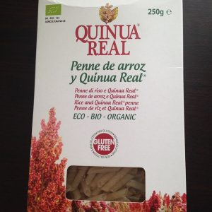 Quinua Real - Organic rice and Quinua Real penne (250 gr)