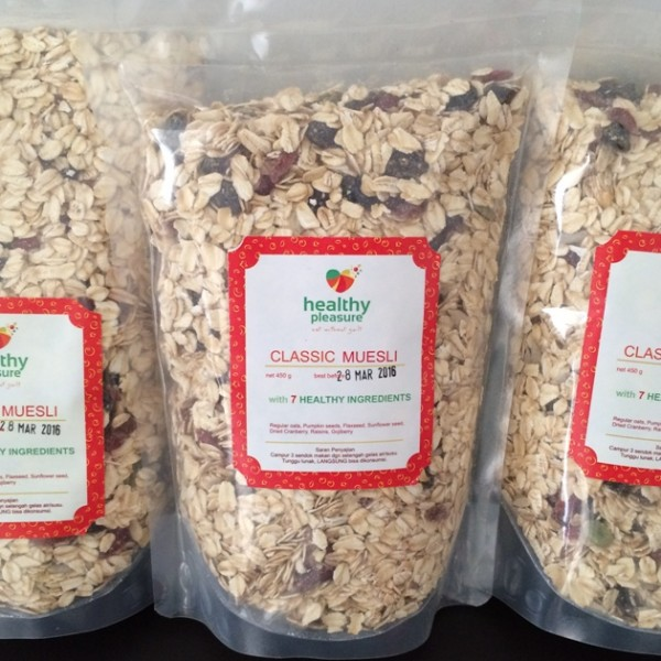 Healthy Pleasure - Natural Muesli Classic (450 gr)
