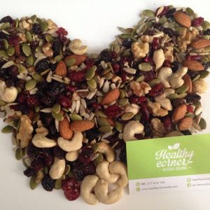 Healthy Corner - Natural Trailmix Nuts & Dried Fruits (275 gr)