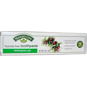 Natures Gate - Natural Toothpaste Wintergreen Gel (5 oz  141 gr)
