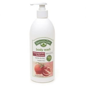Natures Gate Organic Velvet Moisture Body Wash - Pomegranate Sunflower