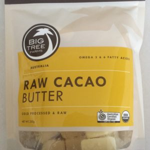 Big Tree Farm - TruRa Raw Cacao Butter (250 gr) 1