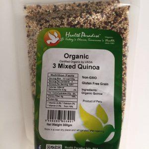 Health Paradise - Organic 3 Mixed Quinoa (300 gr) 1