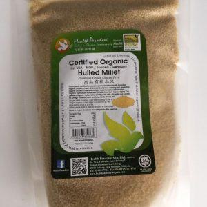 Health Paradise - Premium Organic Hulled Millet Gluten Free (500 gr) 1