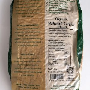 Radiant Whole Food - Organic Wheat Berries (1 Kg) 2