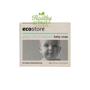 Ecostore - Natural Goats Milk Lavender Baby Soap ( Sabun Bayi Alami) 80 gr