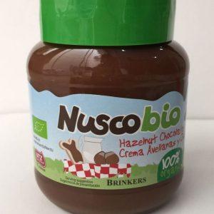 Brinkers - Nuscobio Organic Hazelnut Chocolate Spread Selai Coklat (400 gr)