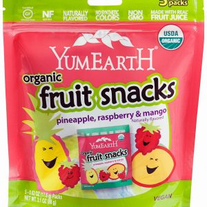 YumEarth - Organic Fruit Snacks, Pineapple, Raspberry & Mango (99 gr) 1