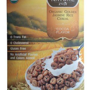 ZVOF - Organic Golden Jasmine Rice Cereal Cocoa Flavor Sereal (245 gr) 1