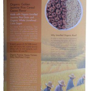 ZVOF - Organic Golden Jasmine Rice Cereal Cocoa Flavor Sereal (245 gr) 2