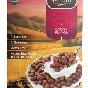 ZVOF - Organic Riceberry Rice Cereal Cocoa Flavor Sereal (245 gr) 1