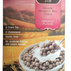 ZVOF - Organic Riceberry Rice Cereal Original Flavor Sereal (245 gr) 1