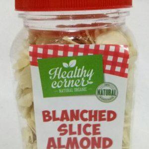 Healthy Corner - Natural Sliced Raw Almond Kacang Iris (150 gr) 1
