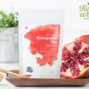 Herbilogy - Pomegranete Peel Extract Powder ( Kulit Delima Bubuk ) 100 gr W