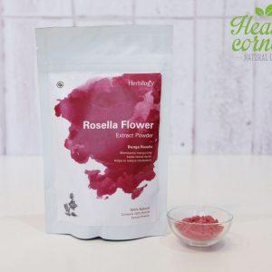 Herbilogy - Rosella Extract Powder ( Bunga Rosela Bubuk ) 100 gr W