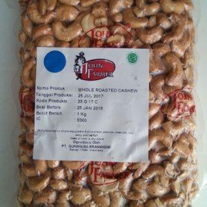 John Farmer - Roasted Cashew Nut Premium Kacang Mete Panggang (500 gr) 1