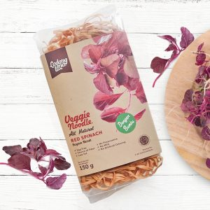 Ladang Lima - Veggie Noodle Healthy Mie (Red Spinach) 150 gr