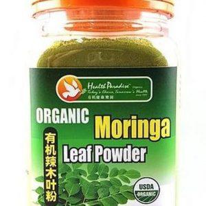 Health Paradise - Organic Moringa Tender Leaf Powder ( Bubuk Daun Kelor ) 150 gr
