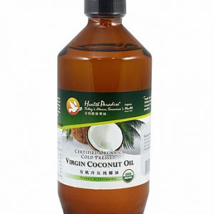Healthy Paradise - Organic Cold Pressed Extra Virgin Coconut Oil VCO (500 mL)