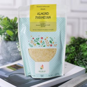 Leap for Joy - Healthy Almond Parmesan ( Bubuk Kacang Almon Keju Sehat ) 150 gr