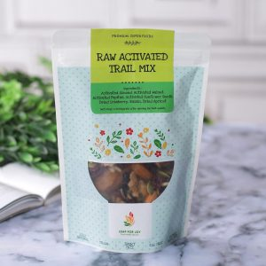 Leap for Joy - Healthy Raw Activated Trail Mix ( Cemilan Sehat Kacang Mentah ) 200 gr