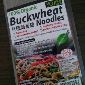 Yoji - Organic Buckwheat Noodle ( Mie ) 300 gr 2