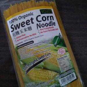 Yoji - Organic Sweat Corn Noodle ( Mie Jagung ) 300 gr 2