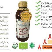 Organic Coconut Aminos ( Kecap ) 250 mL - Java Blossom 3