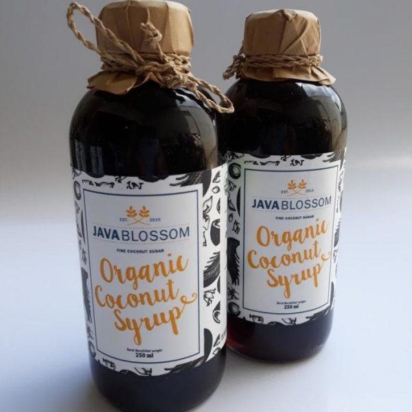 Organic Coconut Syrup ( Sirup Kelapa ) 250 mL - Java Blossom