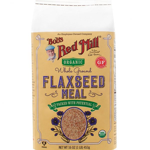 Organic Golden Flaxseed Meal ( 453 gr ) - BRM 1