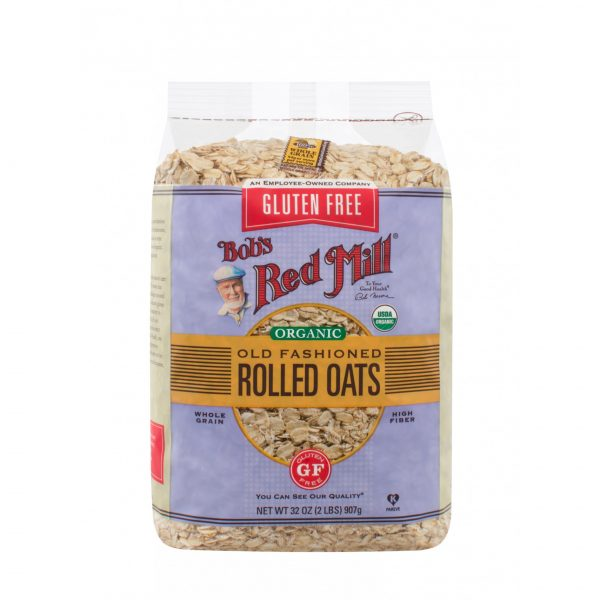Organic Old Fashioned Rolled Oats ( 907 gr ) - BRM 1