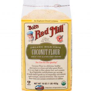 Organic Coconut Flour Tepung Kelapa 453 g - Bob Red Mill 1