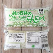Mie Shirataki Hijau Basah Ketogenic Diet Keto 1 Dus 25 x 200 gr - Mr Ishii 3