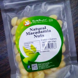 Raw Macadamia Nut ( Kacang Mentah ) 100 gr - Health Paradise 1