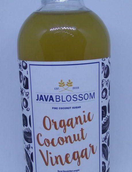 Organic Coconut Vinegar Cuka 250 mL - Java Blossom 1