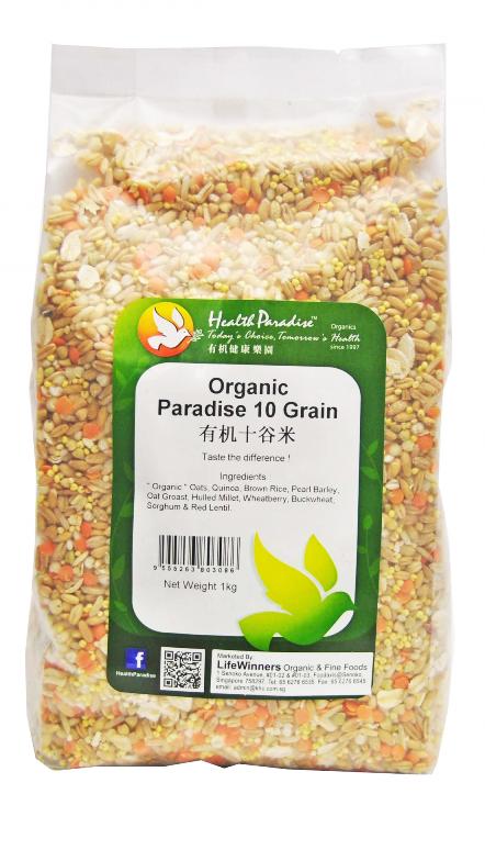 1d86743be00 Organic Paradise 10 Grain ( 1 Kg) – Jual Makanan Diet Sehat Alami ...